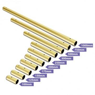 X-Pole Erweiterung 45mm gold 1000mm